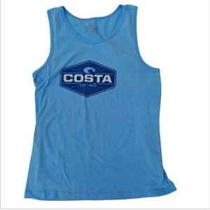 Costa Men Tank blue size M